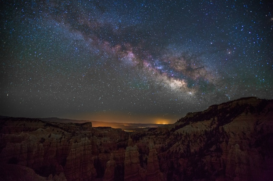 Fairyland Canyon Utah Milky Way National Park Park