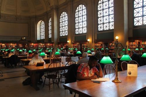 biblioteka boston