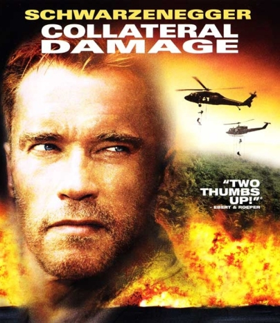 Na własną rękę (Collateral Damage), producenci: Hawk Koch, Nicholas Meyer, źródło: https://thoughtcatalog.com/ted-pillow/2012/11/the-action-films-of-arnold-schwarzenegger-in-order-of-implausibility-part-2/,