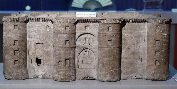 model więzienia Bastylii
