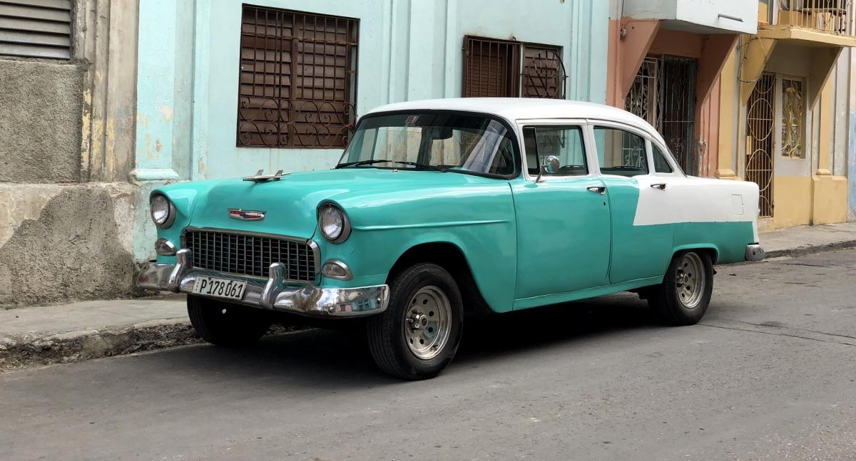 Samochody na Kubie – zabytki na czterechkółkach