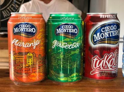 Kubańska odpowiedź na embargo - Fanta, Sprite, Cola